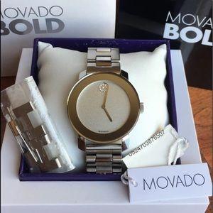 Movado Bold Glitter Women Watch
